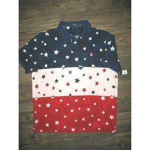 Polo Ralph Lauren Shirt Stars Print Classic Fit US